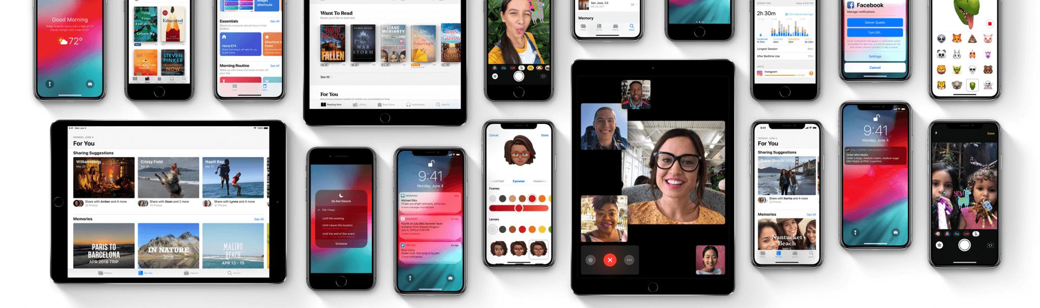 ios 12 capa - WWDC18: iOS 12 chega com Realidade Aumentada compartilhada e Notificações em Grupo