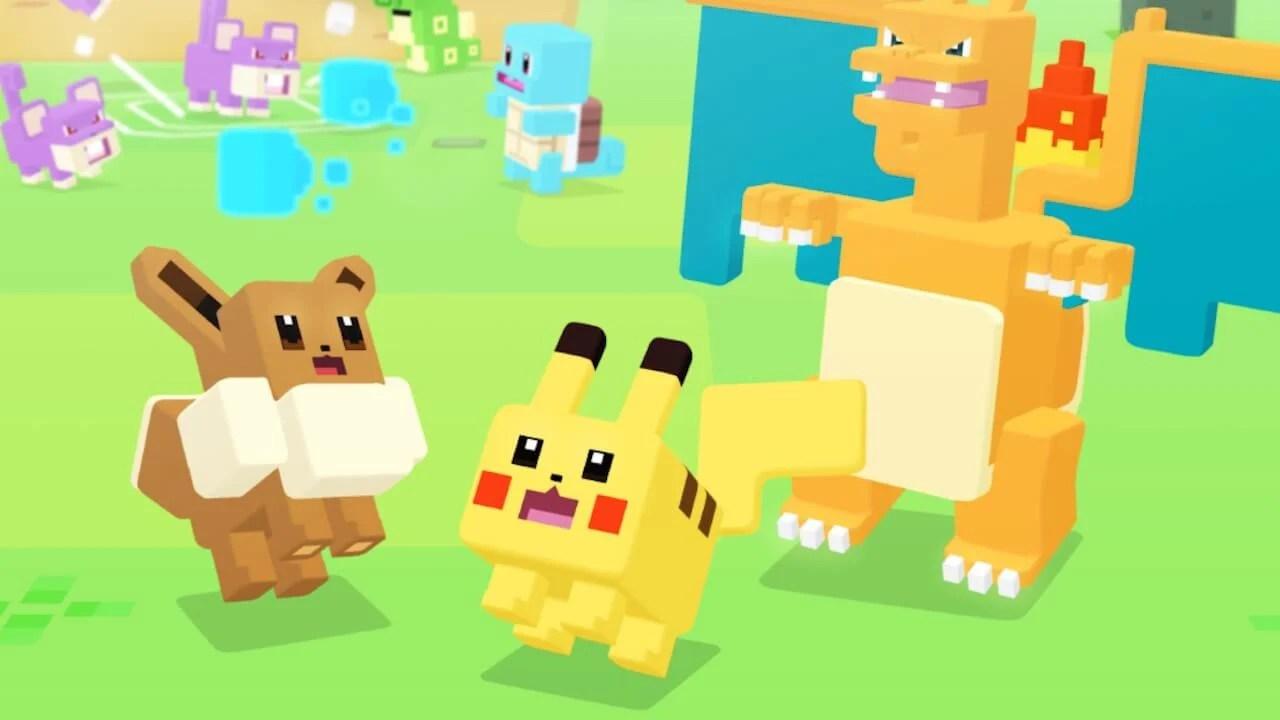 pokemon quest artwork - Pokémon Quest é lançado para sistemas Android e iOS
