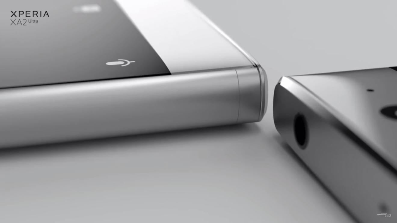 Design - Sony Xperia XA2 Ultra