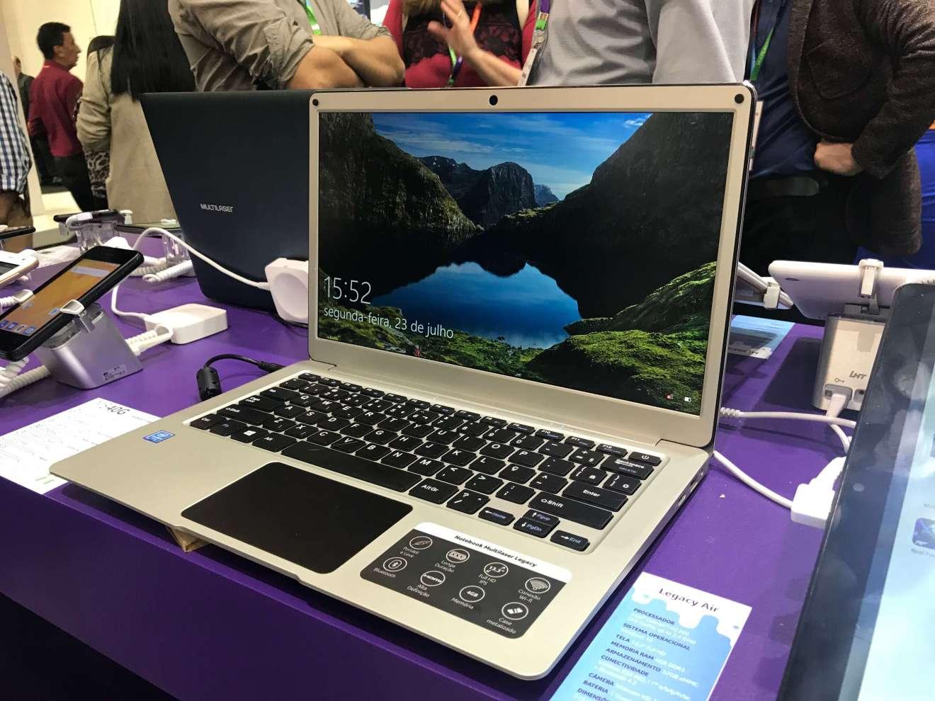 Multilaser Legacy PC208 - Showmetech