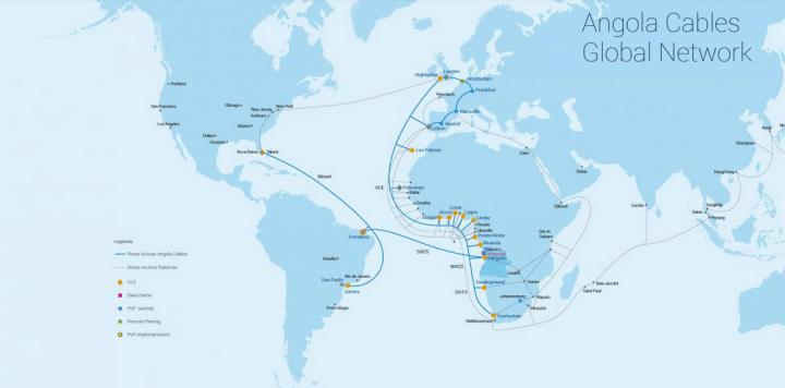 Angola Cables investe US$ 300 milhões para ligar Brasil e África 7