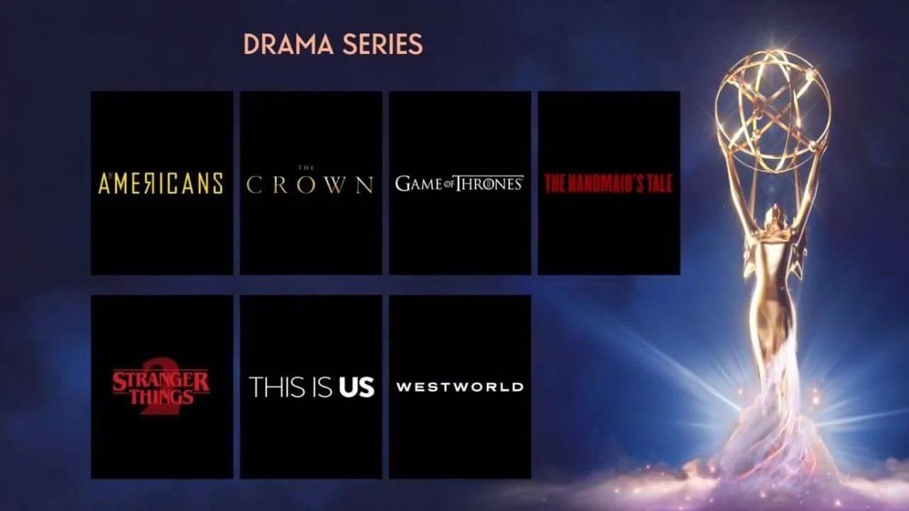 Emmys 2018: Conheça os indicados ao principal prêmio da televisão 7