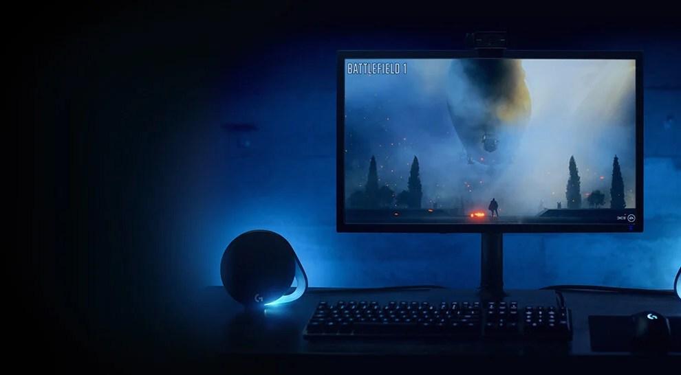 Review: Logitech G560 entrega iluminação e áudio imersivos para jogos 4