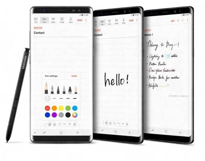 galaxy notes 1 720x567 - Galaxy Tab A: o que podemos fazer com a S Pen nos tablets da Samsung?