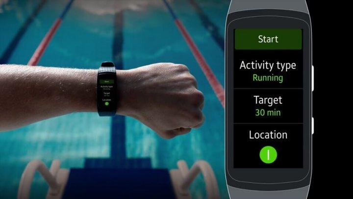 Wearables: Como gravar treinos de natação com o Gear Fit 2 Pro 8