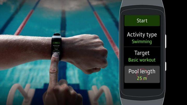 Wearables: Como gravar treinos de natação com o Gear Fit 2 Pro 10