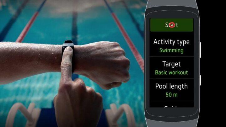 Wearables: Como gravar treinos de natação com o Gear Fit 2 Pro 11