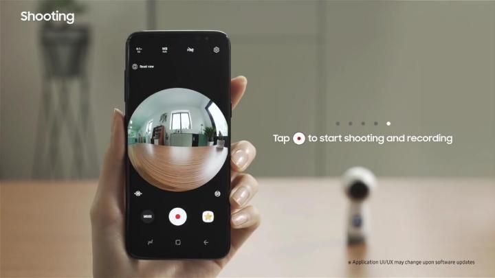 Wearables: Como gravar e editar vídeos com a Gear 360 8