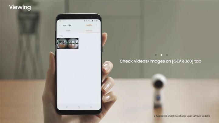 Wearables: Como gravar e editar vídeos com a Gear 360 10