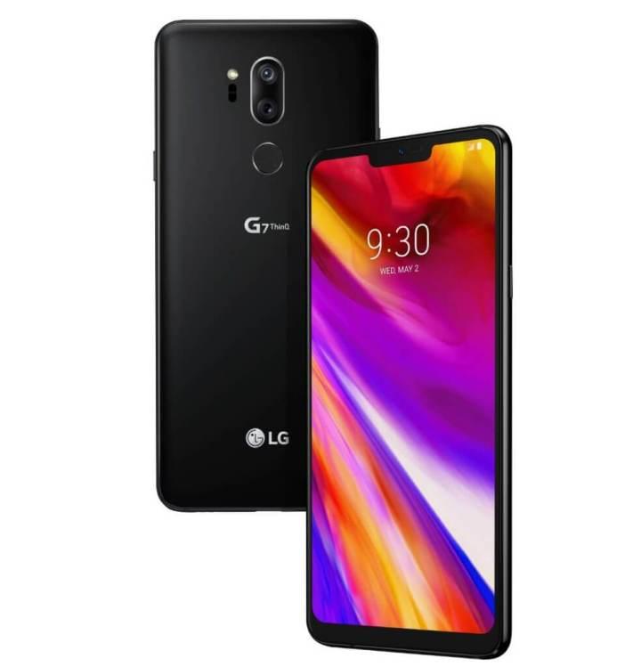 lg g7 720x749 - Saiba quais são os smartphones com tela infinita aqui no Brasil