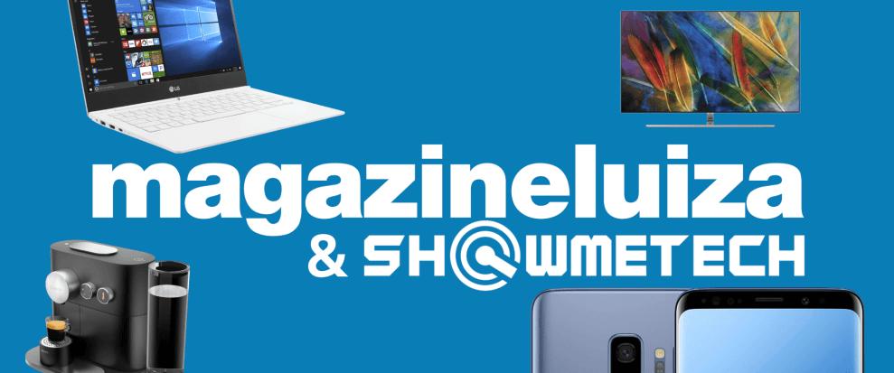 magazine luiza showmetech loja logo - 10 Produtos incríveis para você conhecer a loja do Showmetech