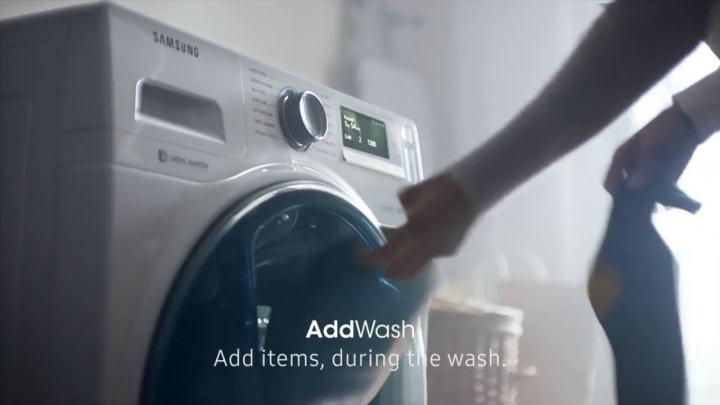 Como lavar as roupas a seco nas máquinas Add Wash da Samsung 5