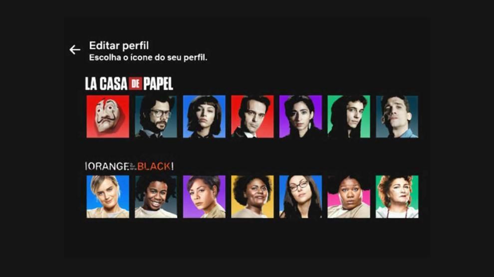 Netflix finalmente libera novas imagens para perfis 6