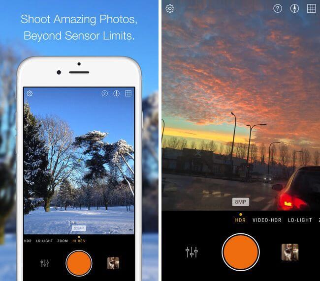 10 aplicativos de câmera para tirar fotos perfeitas no Android e no iPhone 7
