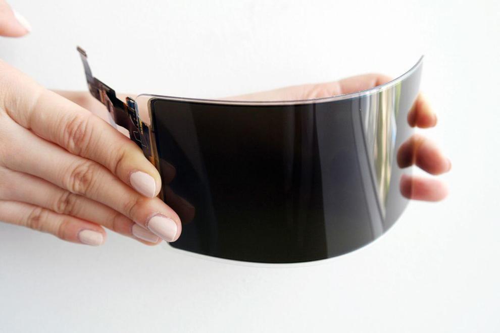 Samsung cria tela OLED inquebrável 6