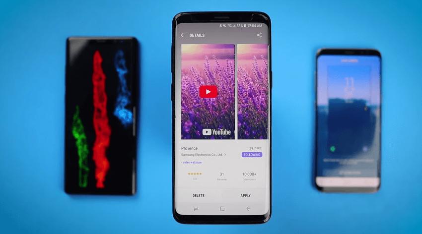 Tela de bloqueio em video: saiba como mudar seu Galaxy S8, Note 8 ou S9 10