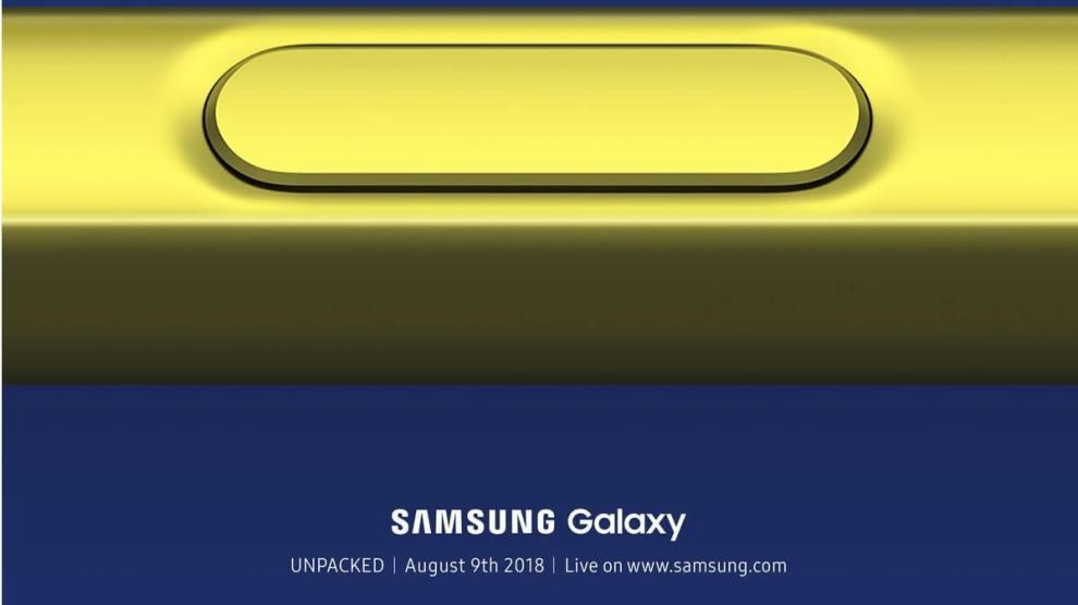 Como assistir ao lançamento do Galaxy Note 9 6