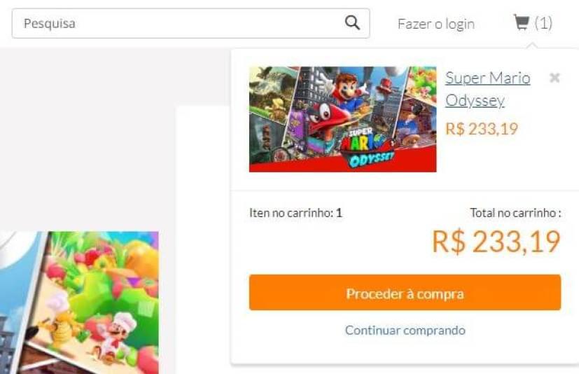 4 1 - Aprenda a fazer compras pela loja online da Nintendo no Brasil