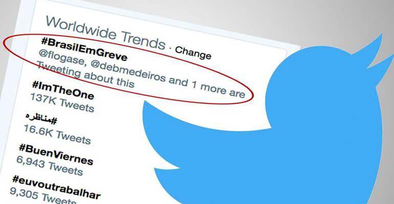 Hashtags: tudo começou no twitter.