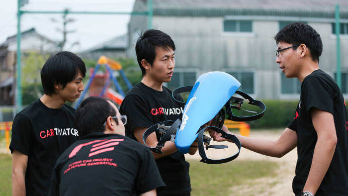 Carro Voador3 - Japão começa a investir pesado em carros voadores