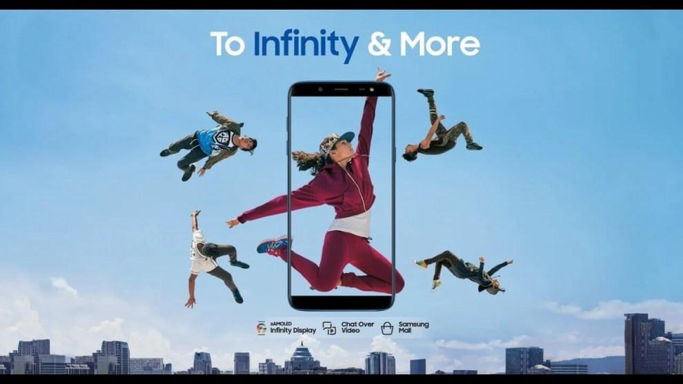 Samsung Galaxy J6 To Infinity And More TVC Ringtone Free Download - Conheça os 3 novos integrantes da família Samsung Galaxy J no Brasil