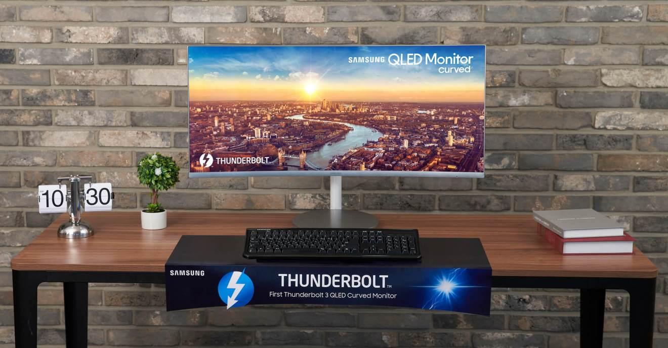 Samsung Thunderbolt™ 3 QLED Curved Monitor 3 - IFA 2018: confira tudo o que foi apresentando pela Samsung
