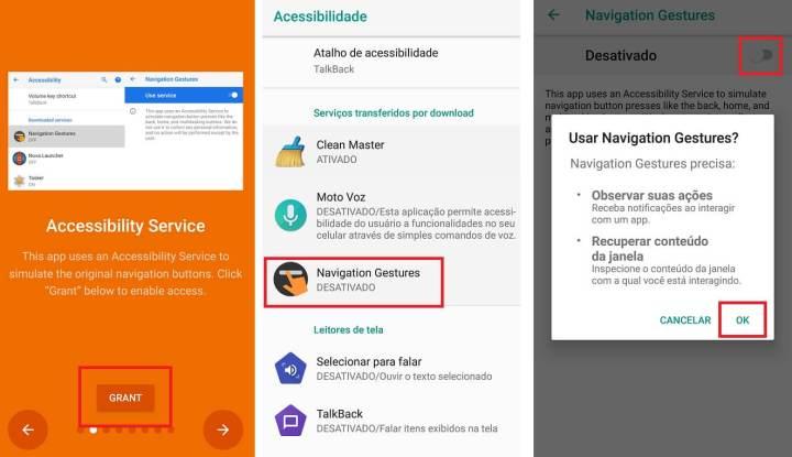 Garantindo a acessibilidade ao aplicativo