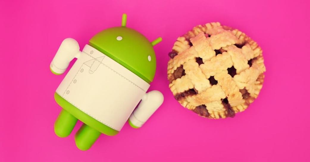 Pacote de apps Android Pie