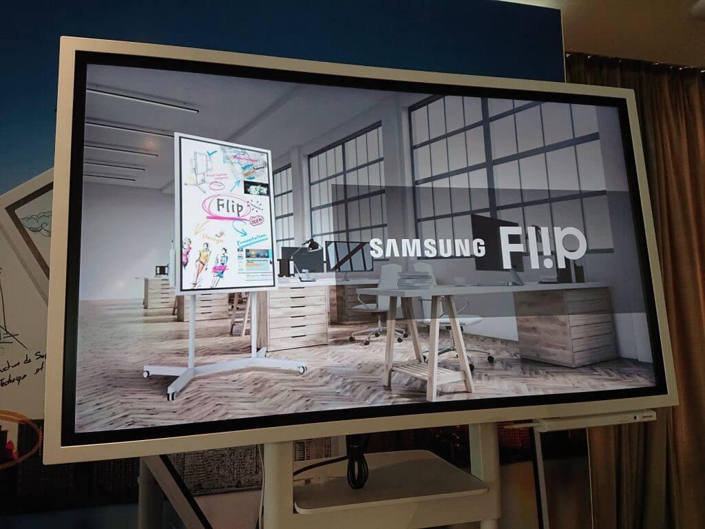 flip 3 - Samsung Flip: a inovação que seu escritório precisa para ser mais moderno
