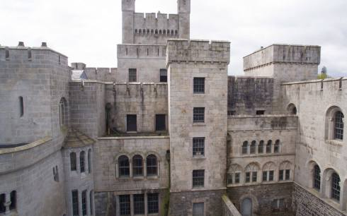 Gosford castle walls gotcastle0718