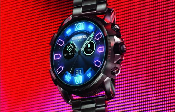Novo relógio da Diesel que foi lançado durante a IFA 2018