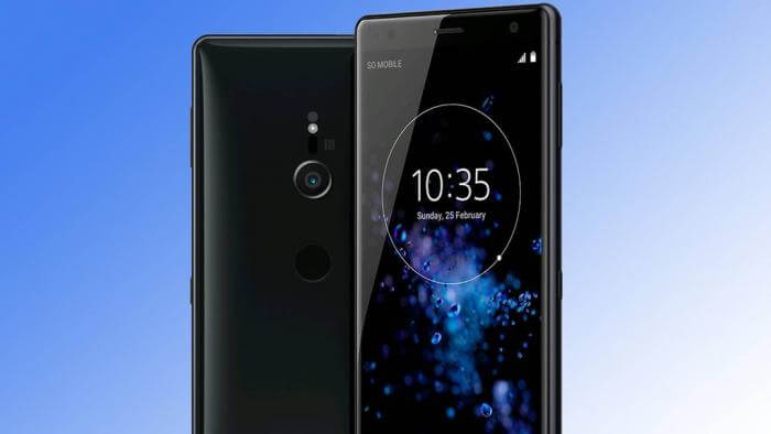 foto mostrando o possível novo celular que vai ser anunciado pela Sony durante a IFA2018