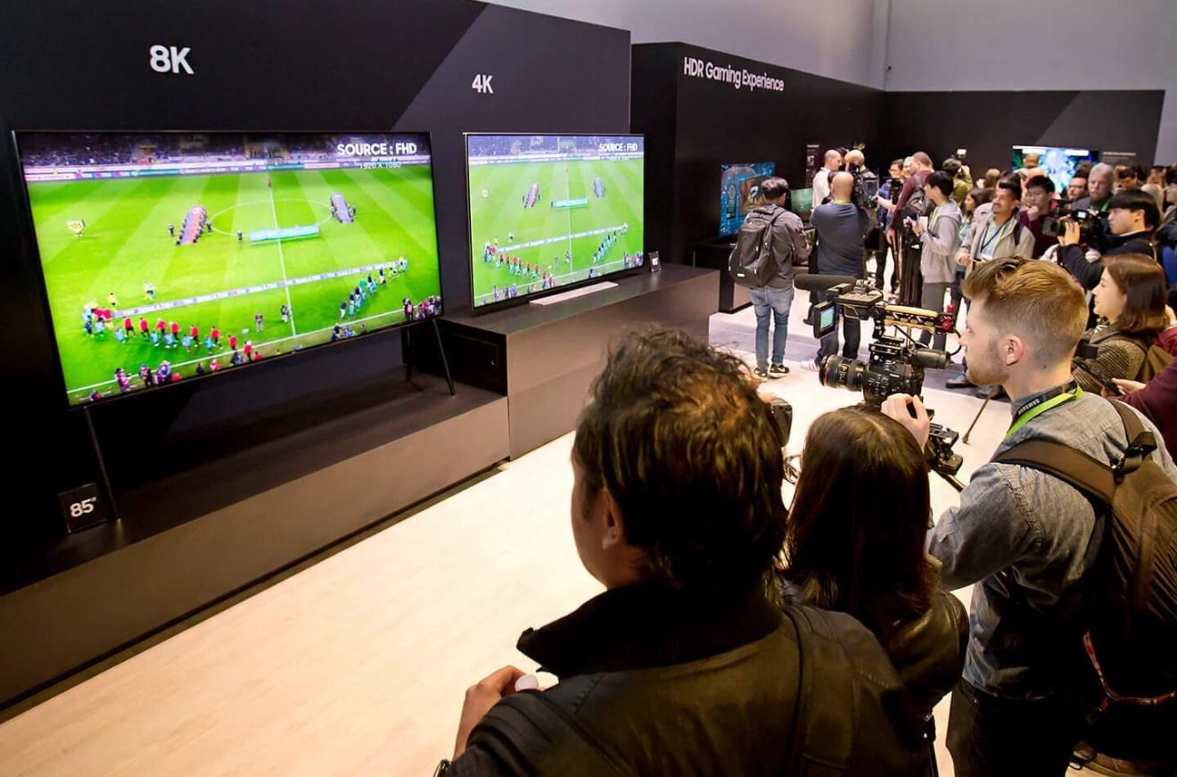 Samsung lançará QLED 8K em outubro
