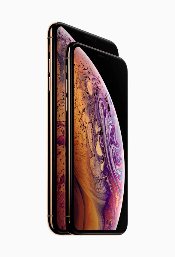 Apple iPhone Xs line up front face 09122018 - Tela do iPhone XS Max é eleita a melhor de todos os tempos