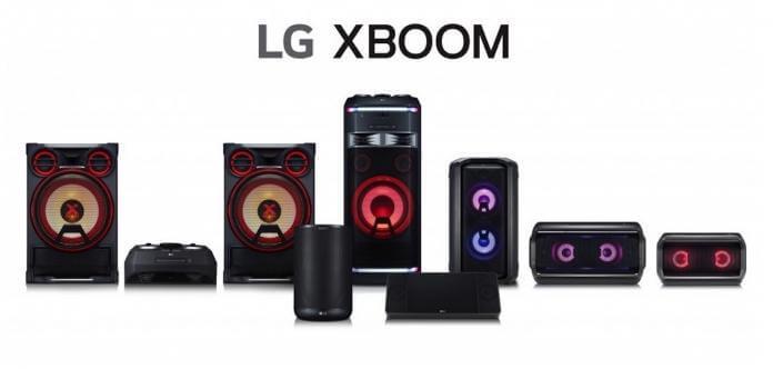 LG XBOOM AUDIO 696x332 - InnoFest Latin America 2018: LG exibe soundbar e alto-falantes inteligentes