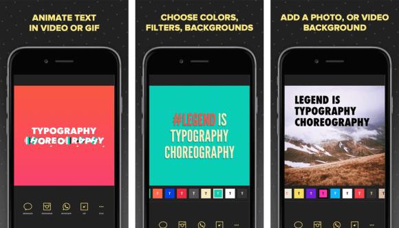 legend iphone app 580x332 - Instagram Stories: 10 apps fantásticos para edição e criação de conteúdo