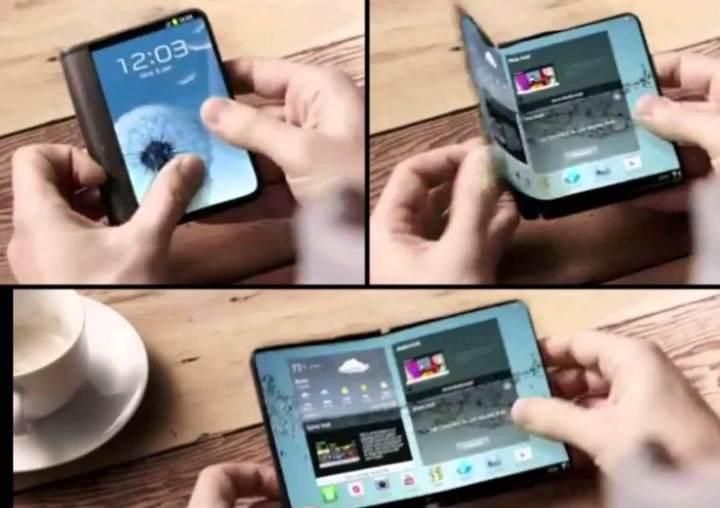 samsung to start small production of foldable smartphones in q4 2017 512765 2 720x508 - Smartphone dobrável deverá ser apresentado ainda esse ano