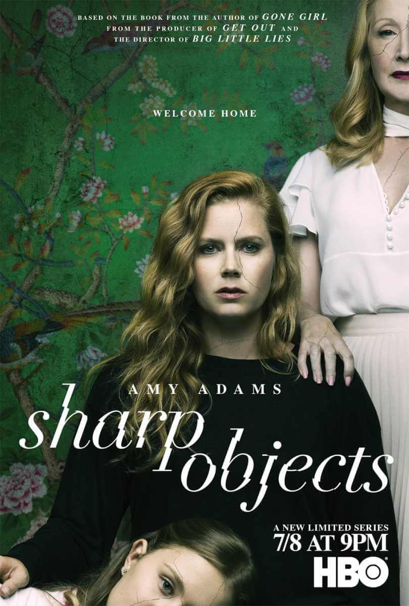 sharp cover t - Sharp Objects: Amy Adams brilha em adaptação literária da HBO