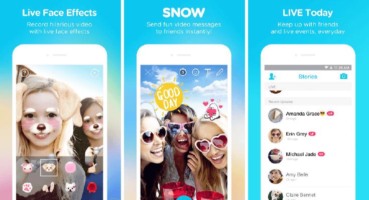 snow - Instagram Stories: 10 apps fantásticos para edição e criação de conteúdo
