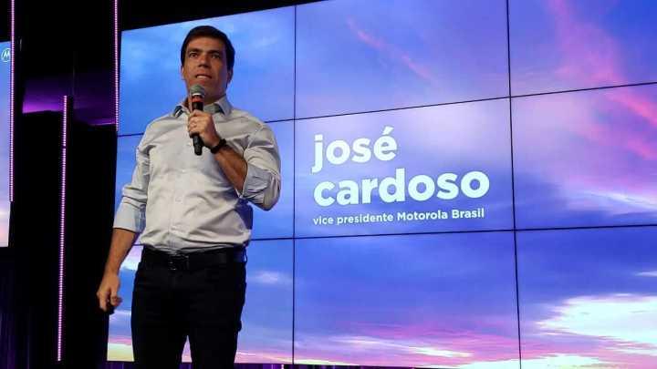 José Cardoso, vice presidente da Motorola no Brasil