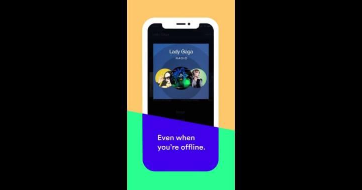 Pode ouvir a rádio até mesmo offline