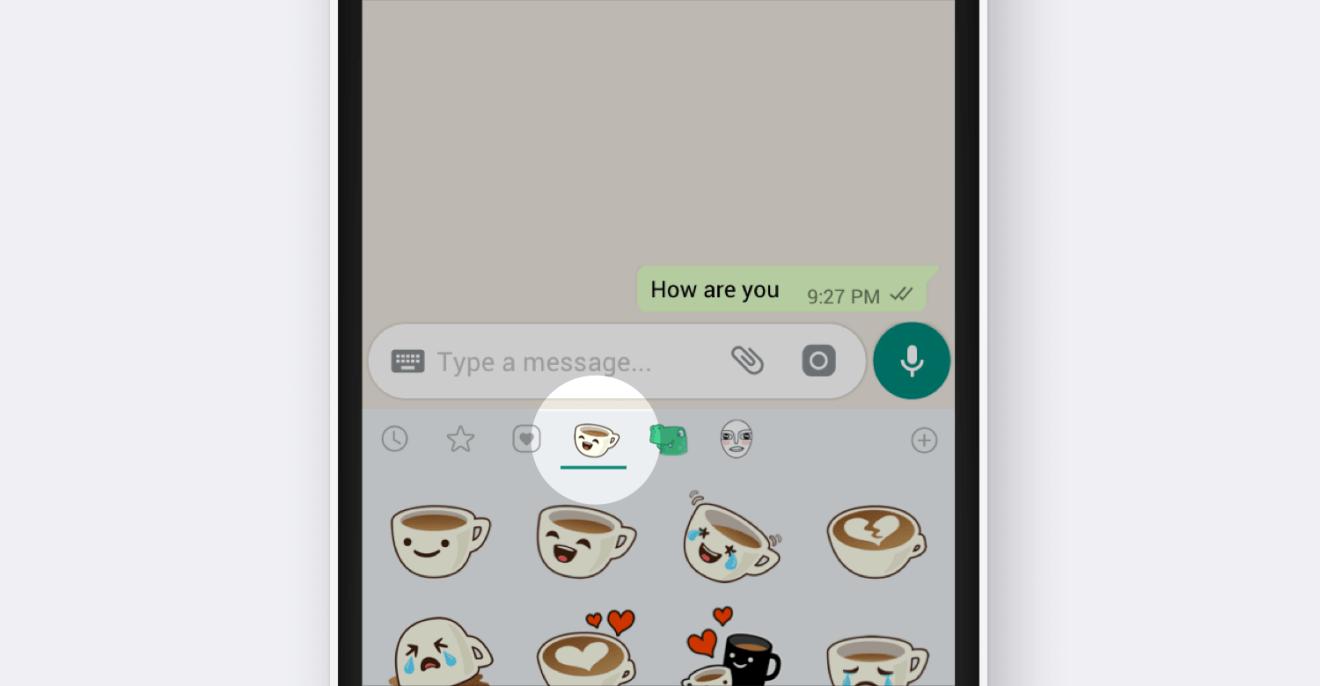 WhatsApp anuncia a chegada de figurinhas para o app