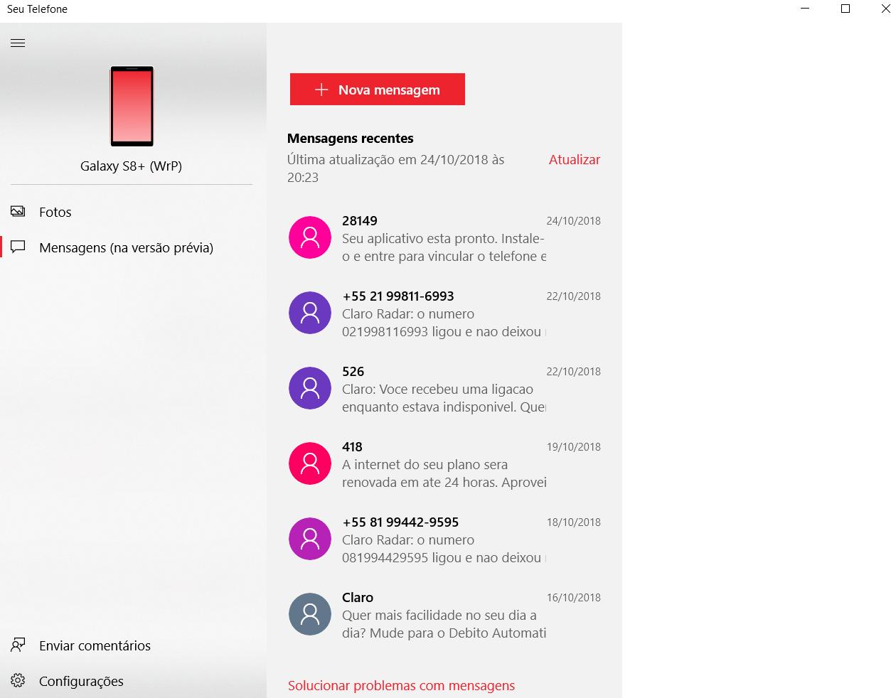 Confira como integrar o seu smartphone Android com o Windows 10 9