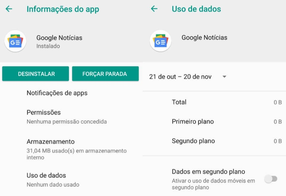 Tutorial de como fugir do bug do aplicativo Google News