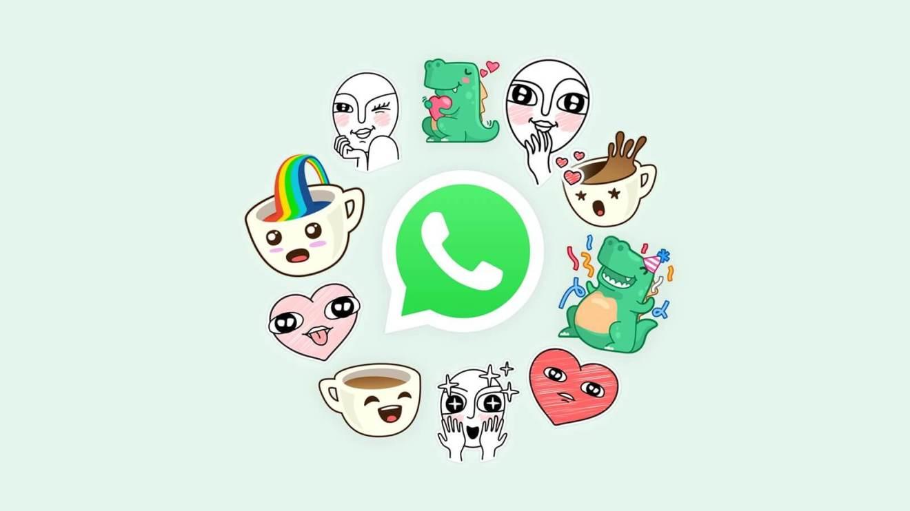 Stickers para WhatsApp no iPhone