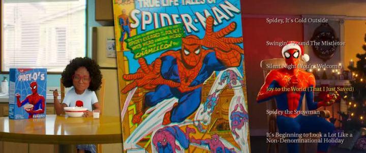spider verse cereal 720x301 - Into the Spider Verse: novo trailer de Spider Man é todo sobre os anos 90