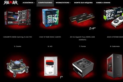 Hardwares do Rawar Apache