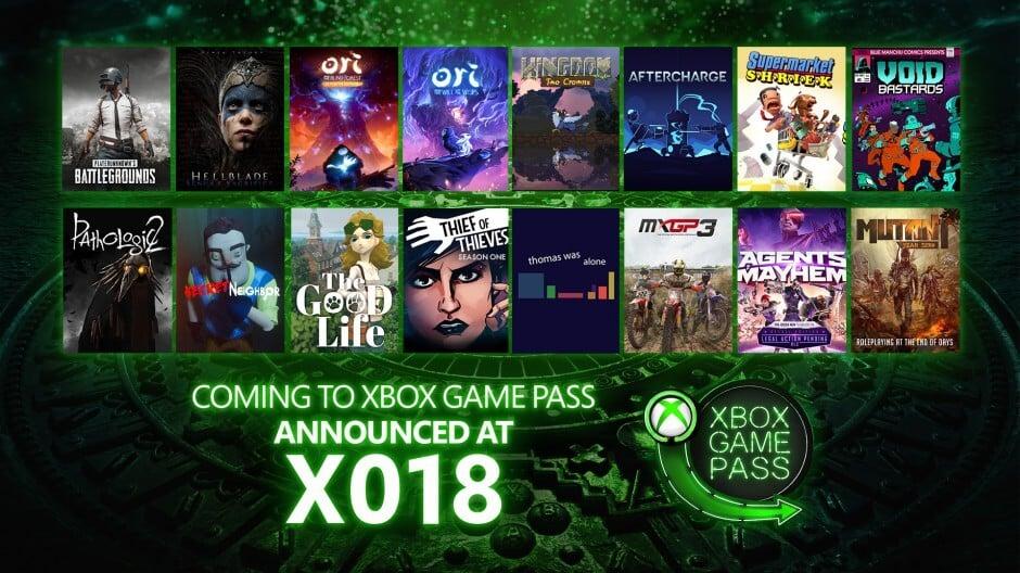 O evento X018, ocorrido no último fim de semana na cidade do México, demonstrou como ainda é vantajoso e versátil o serviço Xbox Game Pass em 2018.