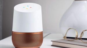 Imagem do aparelho Google Home