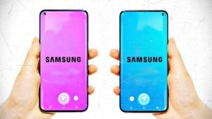 Patente revela design da tela do novo Samsung Galaxy S10 5